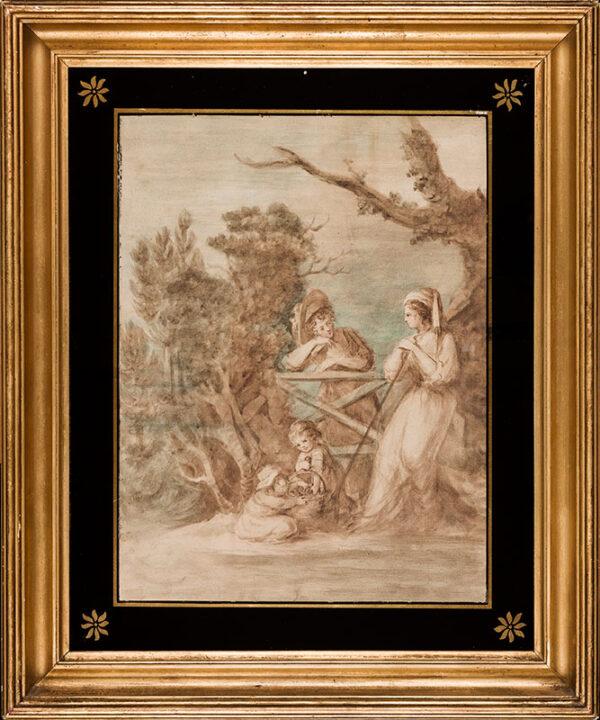 BEAUCLERK Lady Diana (1734-1808) - A rural meeting.