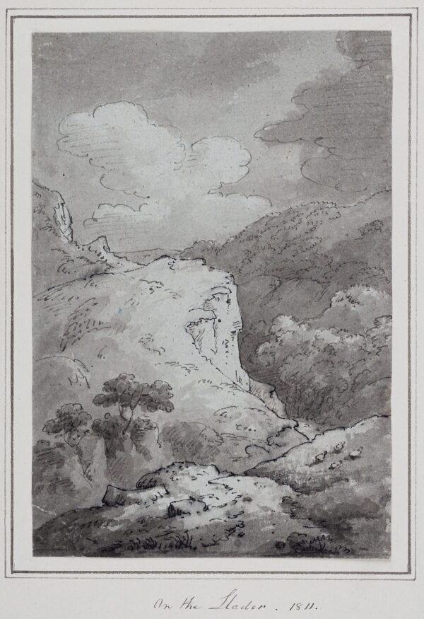 BECKER Ferdinand (Ex. Edmund) (fl.1790-1810) - 'On the Lleder'.