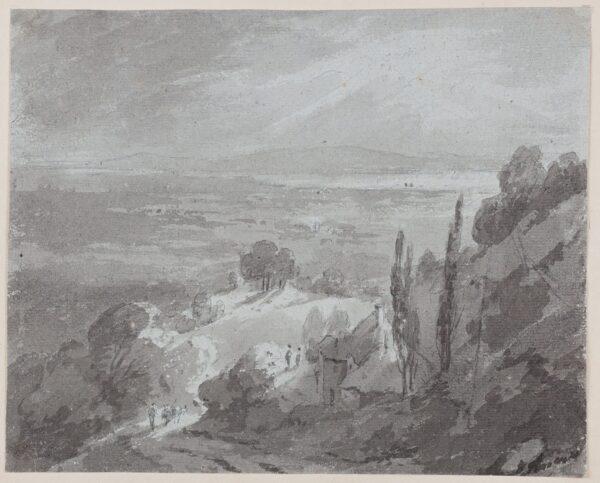 BECKER Ferdinand (Ex. Edmund) (fl.1790-1810) - 'From Frocester Hill', Gloucestershire.