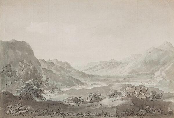 BECKER Ferdinand (Ex. Edmund) (fl.1790-1810) - 'Festiniog'.