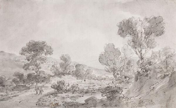 BECKER Ferdinand (Ex. Edmund) (fl.1790-1810) - Avon.
