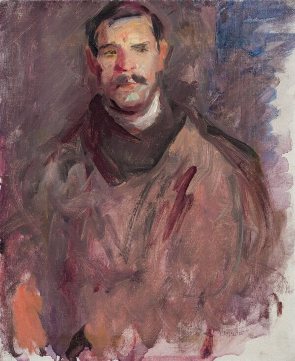 BECKER Harry (1865-1928) - 'A Samson of a Man': a Napthine from Wenhaston.