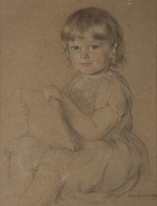 BEDFORD Helen (1874-1949) - 'Master Stephen Tennant' (1906-1987) Pastel.