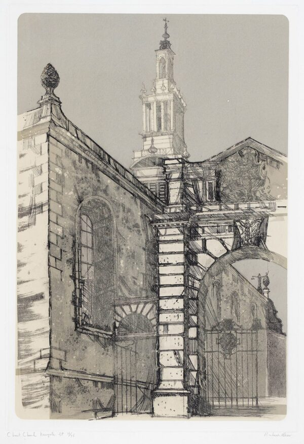 BEER Richard (1928-2017) - 'Christ Church, Newgate Street'.