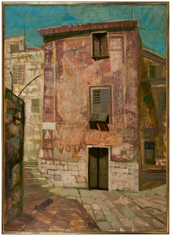 BEER Richard (1928-2017) - 'Castel Sardo' (sic) Sardinia.