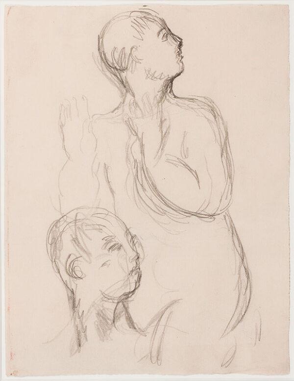 BELL Vanessa L.G. (1879 - 1961) - Figure, surprised.