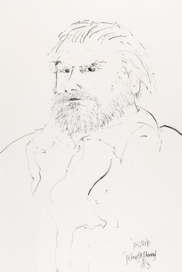 BELLANY John C.B.E. R.A. (1942-2013) - 'Phillip'.