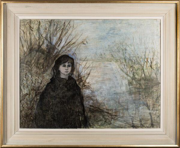 BELLINGHAM-SMITH Elinor (1906-1988) - Girl by the Loire.