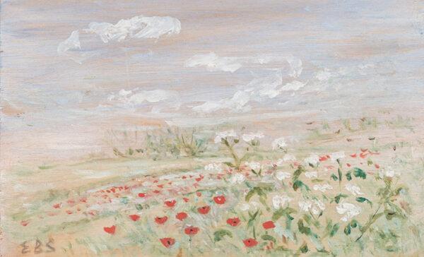 BELLINGHAM-SMITH Elinor (1906-1988) - Summer landscape.