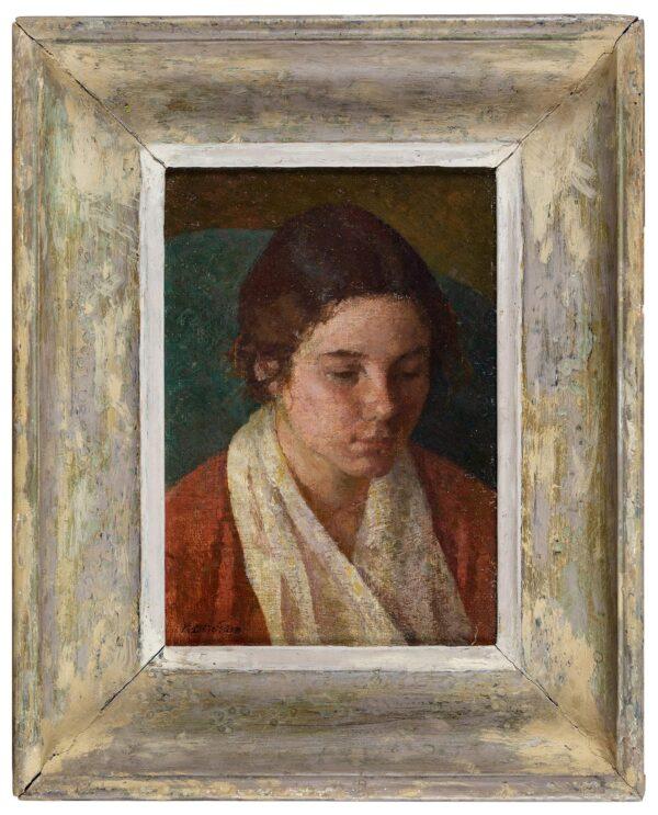 BENHAM Ronald N.E.A.C. (1913-1993) - 'Head of a Student: Pat'.