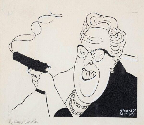 BENTLEY Nicolas (1907-1978) - 'Agatha Christie'.