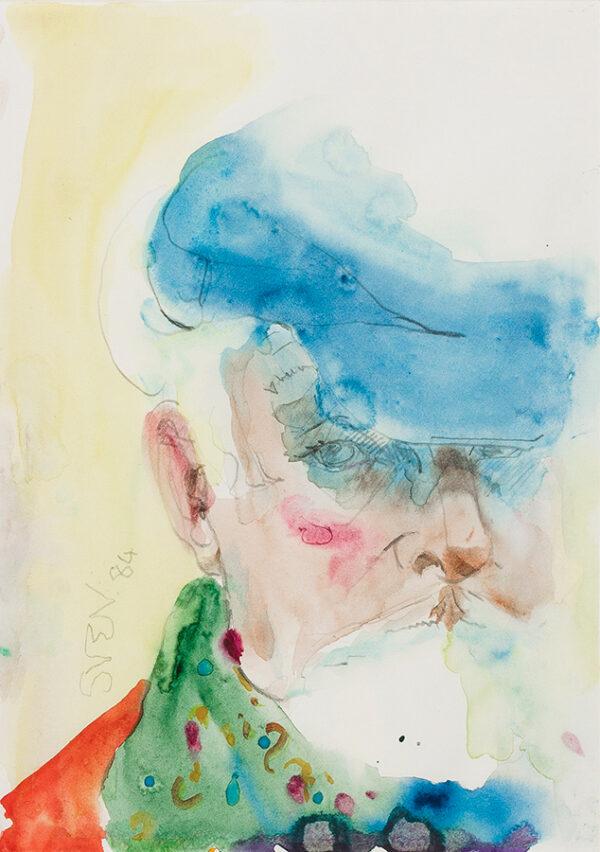 BERLIN Sven (1911-1999) - Self-portrait.