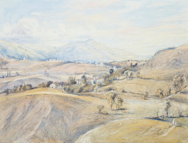 BERNERS Lord (Gerald Tyrwhitt-Wilson) (1883-1950) - 'Appenines from Ca' del Vento'.