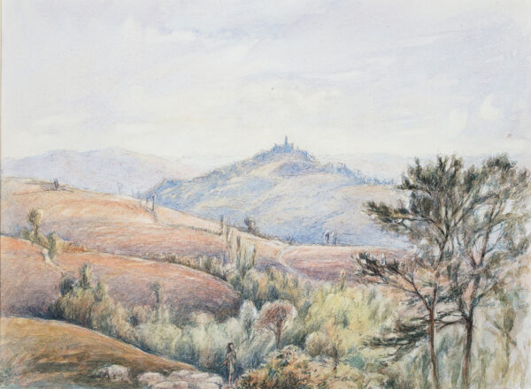 BERNERS Lord (Gerald Tyrwhitt-Wilson) (1883-1950) - 'Castle of Viano'.