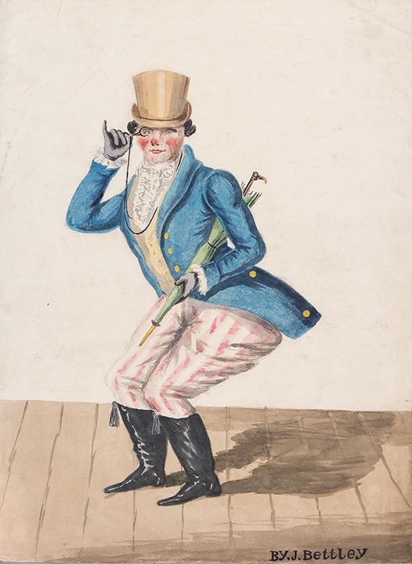 BETTLEY J. (Regency) - A Theatrical Fellow.