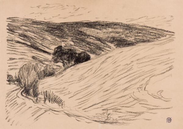 BEVAN Robert (1865-1925) - In the Blackdown Hills.