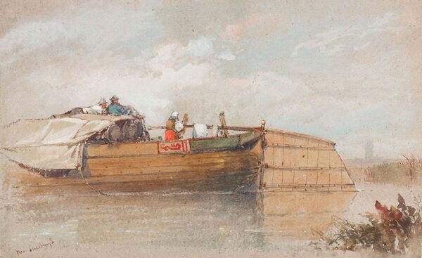 BEVERL(E)Y William Roxy (1811-1889) - ?Holland.