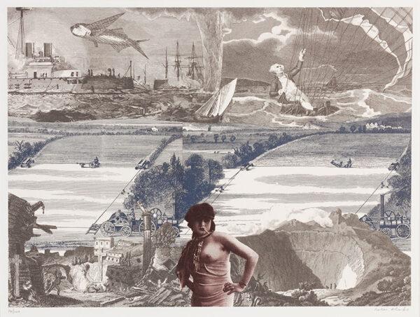 BLAKE Sir Peter R.A. (b.1932) - Untitled.
