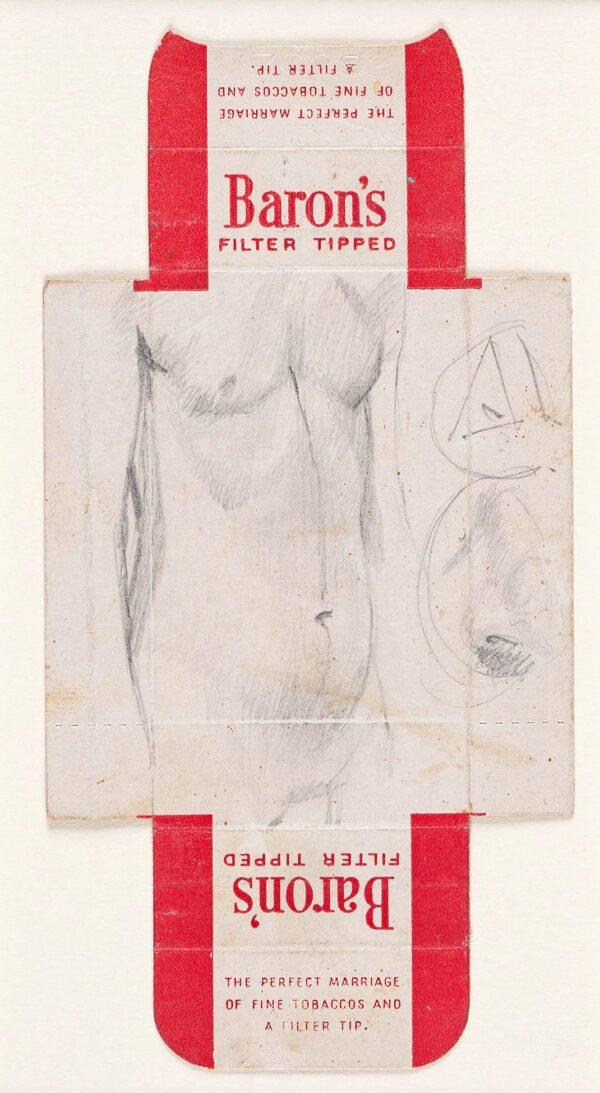 BLAMEY Norman O.B.E. R.A. (1914-2000) - Figure study.