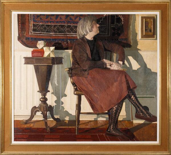 BLAMEY Norman O.B.E. R.A. (1914-2000) - 'Shadows'; the artist's wife.
