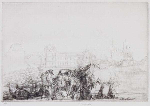 BLAMPIED Edmund R.B.A. R.E. (1886-1966) - 'Ostend'.