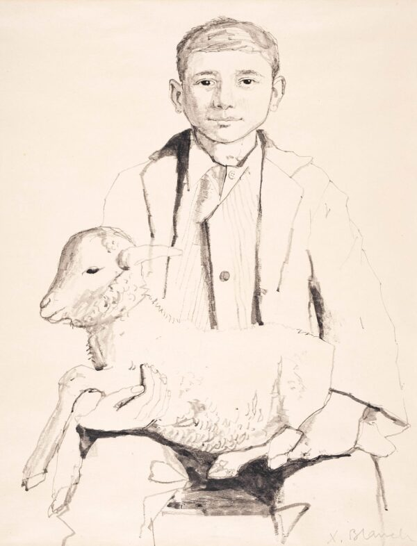 BLANCH Xavier (1918-1999) - Spanish shepherd.