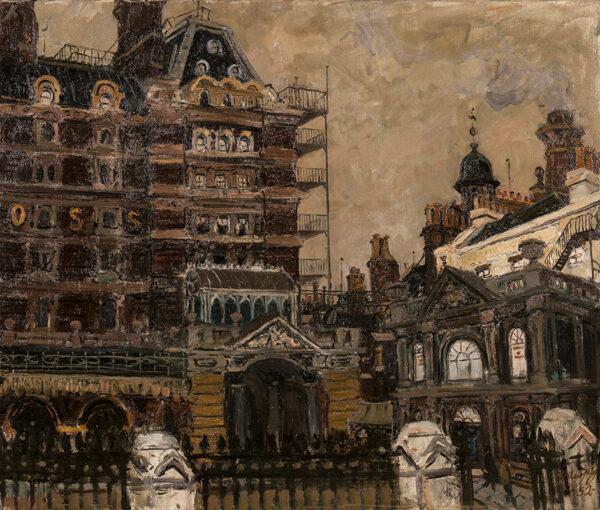 BLAYNEY Robert (1929-2016) - 'Old Charing Cross Hotel'.