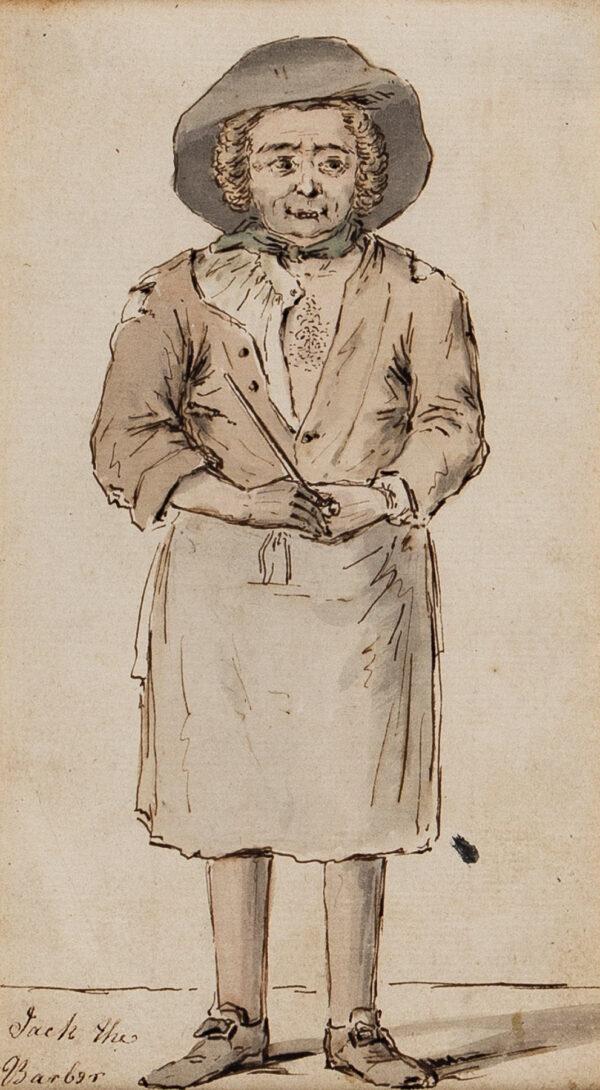 BOITARD Louis Philippe (fl.1733-1767) - 'Jack the Barber'.
