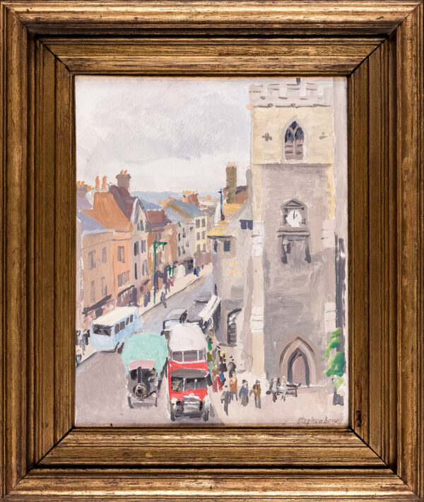 BONE Stephen N.E.A.C (1904-1958) - 'Carfax, Oxford'.