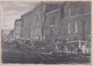 BONE Sir Muirhead N.E.A.C. (1876-1953) - 'Dawn, Newgate Prison'.