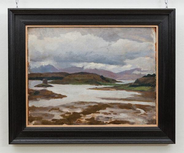 BONE Stephen N.E.A.C. (1904-1958) - 'Castle Stalker ad Shuna', Loch Linnhe.