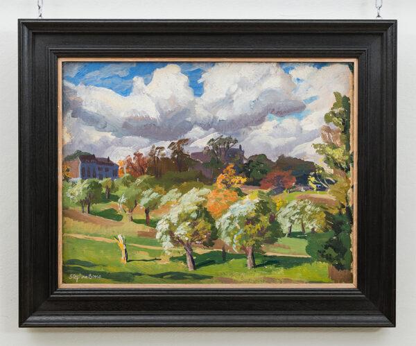 BONE Stephen N.E.A.C. (1904-1958) - 'Jack Straw's Castle, Hampstead Heath'.