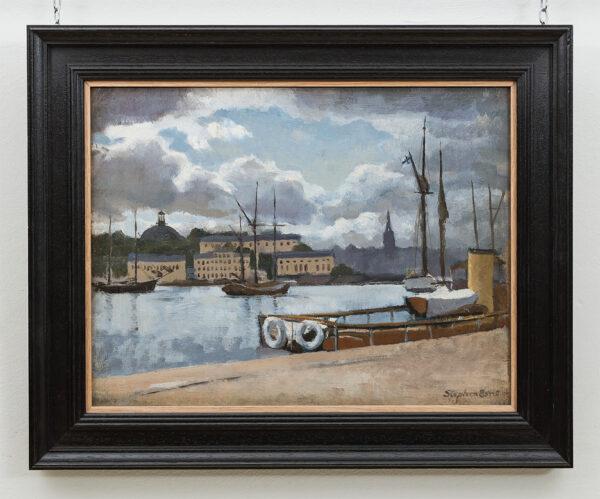 BONE Stephen N.E.A.C. (1904-1958) - 'Stockholm'.