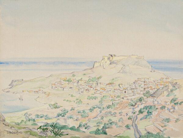 BONE Stephen N.E.A.C (1904-1958) - 'Lindos'.