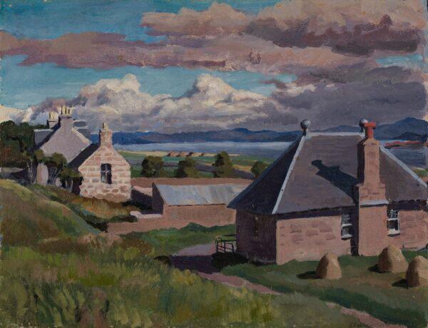 BONE Stephen N.E.A.C (1904-1958) - 'The School House, Iona'.
