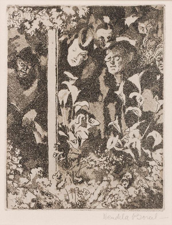 BOREEL Wendela (1895-1985) - Flower Shop window: Moyses Stevens, Berkeley Square.
