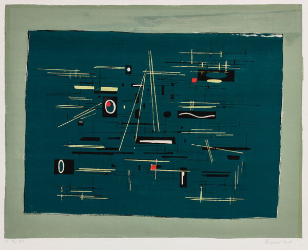 BOTT Francis (1904-1998) - Untitled (Henze 162).
