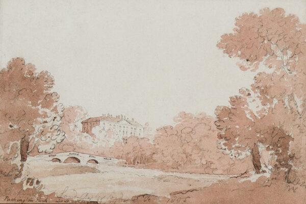 BOURNE Rev. James (1773-1854) - 'Packington Park, Lord Aylesford's'.