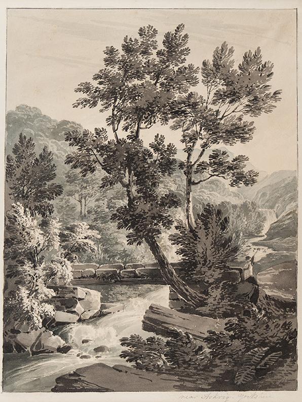 BOURNE Rev. James (1773-1854) - 'Near Askrig, Yorkshire'.