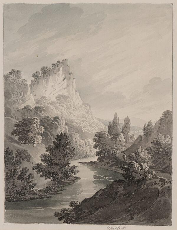 BOURNE Rev. James (1773-1854) - 'Matlock'.