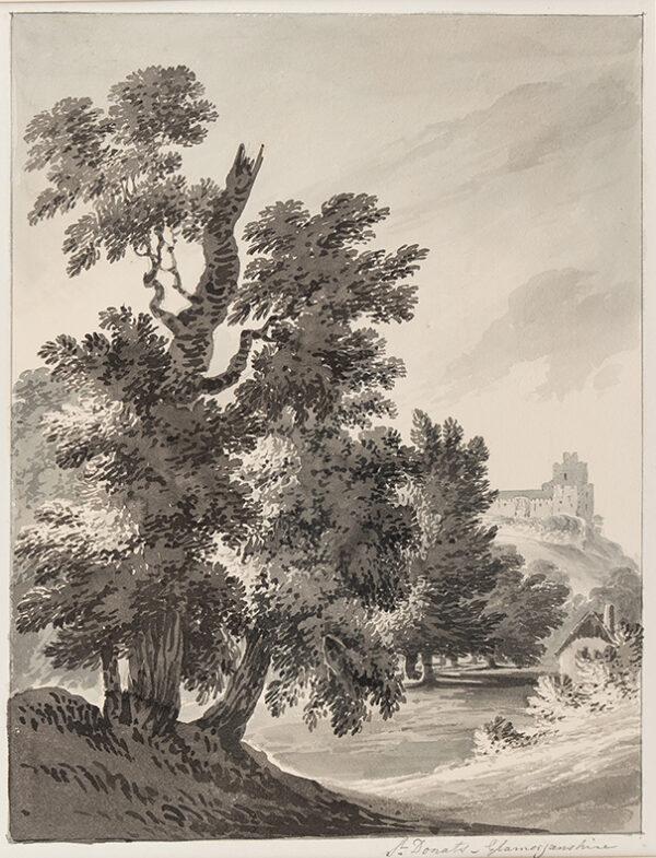 BOURNE Rev. James (1773-1854) - 'St Donats, Glamorganshire'.