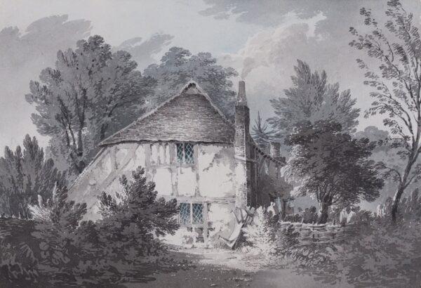 BOURNE Rev. James (1773-1854) - 'A Cottage at Beckenham', Kent.