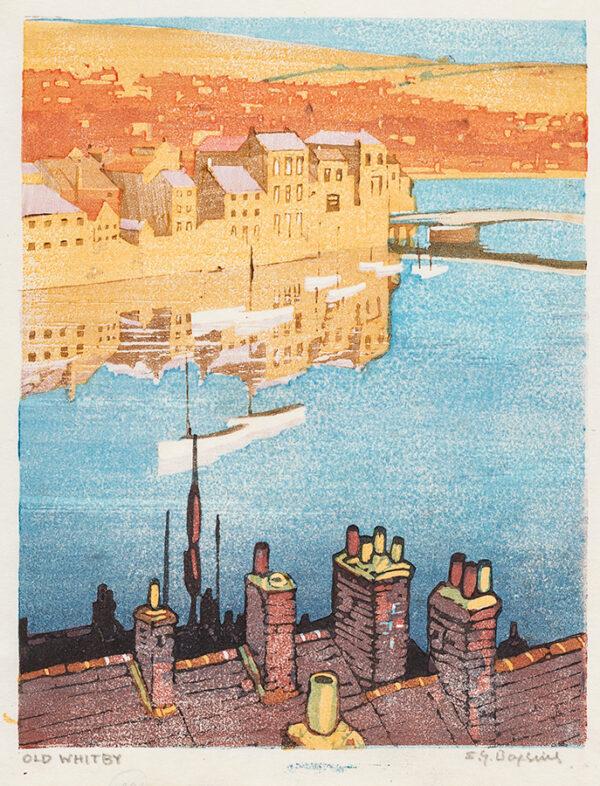 BOXIUS Sylvian G (1878-1941) - 'Old Whitby'.