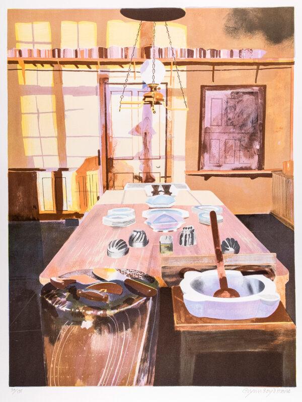 BOYD HARTE Glynn (1948-2003) - 'Early Morning, Charlecote'.
