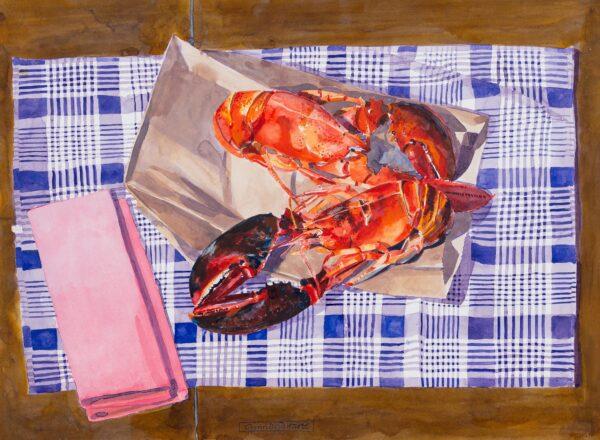 BOYD HARTE Glynn (1948-2003) - 'Maine Lobsters'.