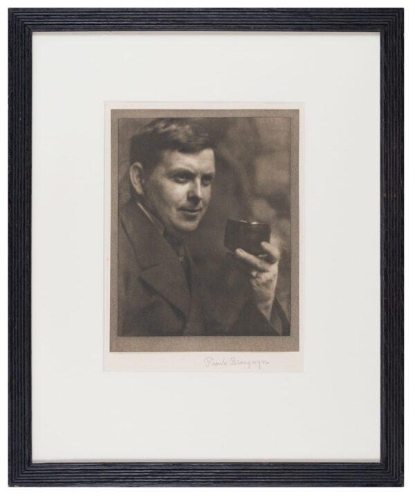 COBURN Alvin Langdon (1882-1966) - Portrait of Sir Frank Brangwyn R.
