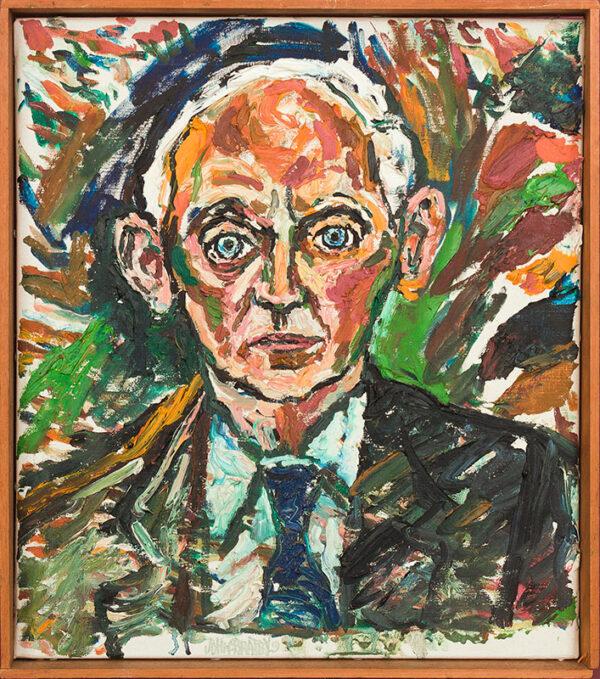 BRATBY John R.A. (1928-1992) - 'Sir Idwal Pugh' (1918-2010): Civil Servant.