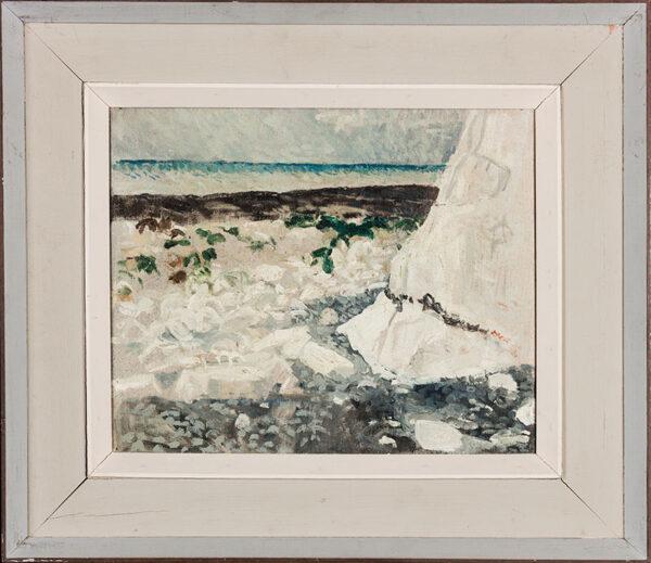 COOKE Jean (1927-2008) - 'Chalk and Flint', Birling Gap.