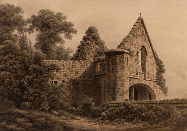 BREE Rev William (1753-1822) - Maxstoke Priory, Warwickshire.