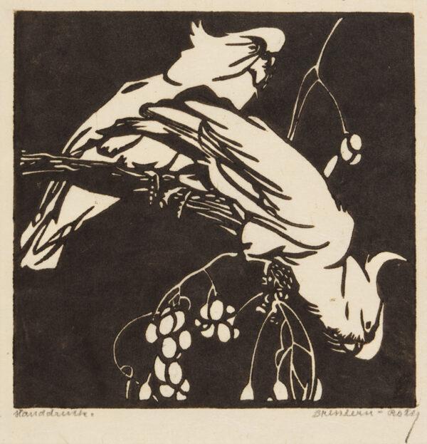 BRESSLERN-ROTH Norbertine (1891-1978) - 'Cockatoos'.